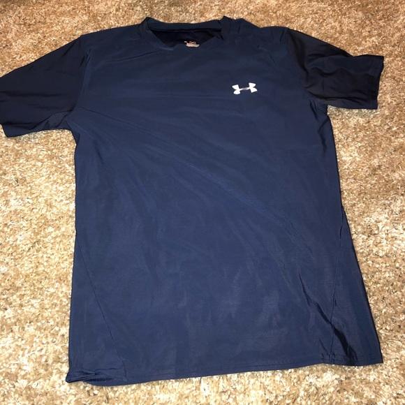 kupuj bestsellery zamówienie ceny odprawy Navy blue under armor shirt